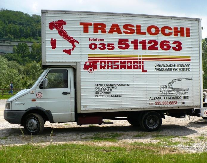 TRASLOCHI BERGAMO - ALZANO LOMBARDO